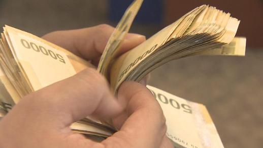 韩国家庭持有现金今年一季度首次超过90万亿韩元
