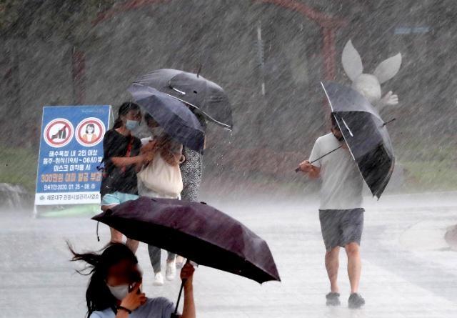 Mùa mưa năm nay ở miền Trung Hàn Quốc kéo dài kỷ lục 49 ngày…Vẫn tiếp tục cho đến hết ngày 16