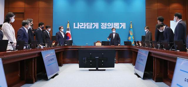 """文 피해 복구 핵심은 속도…가용자원 총동원"""""""