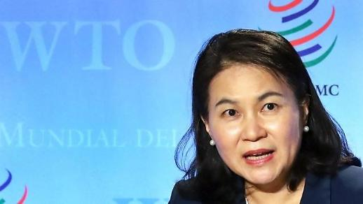 韩世贸组织总干事候选人:将致力恢复调解功能