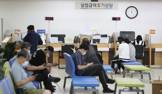 统计:韩7月就业人口同比减27.7万人 失业率4%