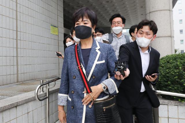 [포토] 선고공판 마친 손혜원 전 의원
