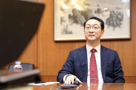韩外长助理金健与美助理国务卿史迪威在线会谈
