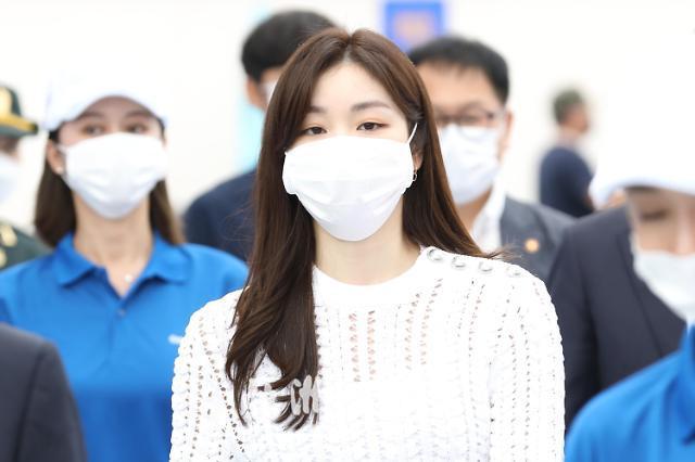 金妍儿出席SK电讯Galaxy Note 20开通活动
