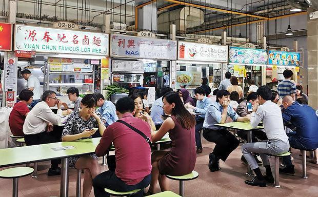 [NNA] 싱가포르, 호커센터⋅시장의 30%, 전자결제 시스템 도입