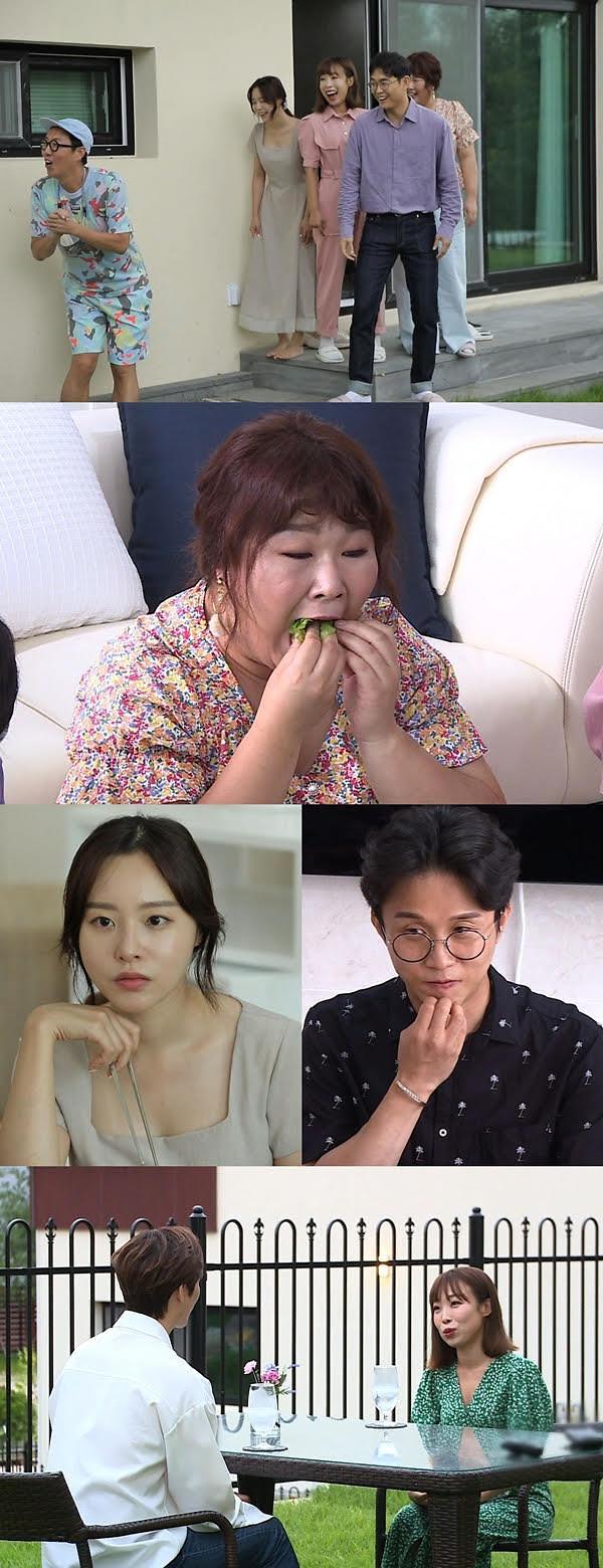 [최고의 1분] 너는 내운명 '김포 하트시그널' 박성광♥이솔이, 오나미 즉석 소개팅 결과는?