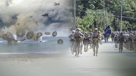 韩美时隔一年启动联合指挥所演习