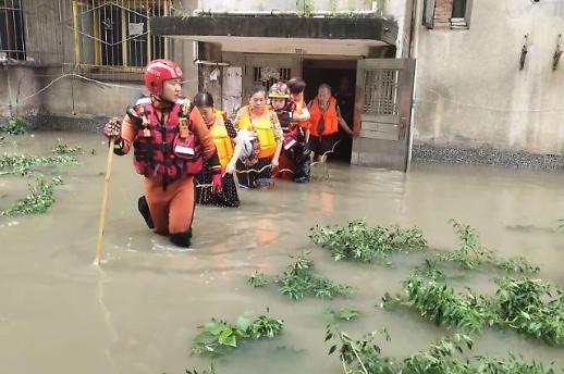 四川省受持续强降雨影响 多地受灾
