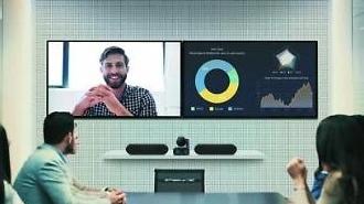 Màn hình Samsung kết hợp với các giải pháp hội nghị truyền hình của Logitech