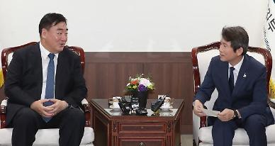 이인영 G2 외교인사 상견례서 드러난 남북 협력 미·중 온도차