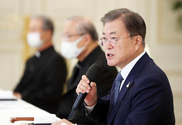 文在寅呼吁宗教界协助抗疫 首尔市将禁止10人以上集会