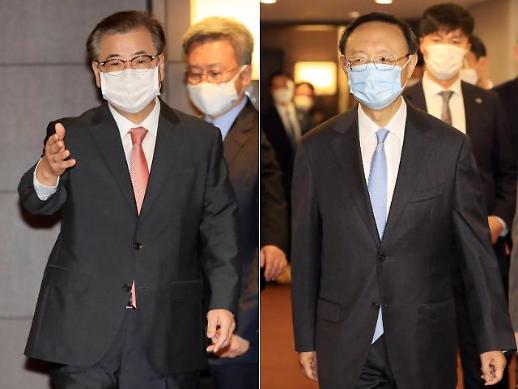韩国国安首长会晤中共中央政治局委员杨洁篪