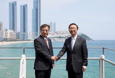 서훈·양제츠, 6시간 '마라톤 회담' 종료…한·중 관계 '회복' 필요성 공감대(종합)