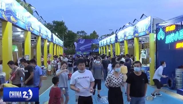 코로나19 진원지 우한서 10만명 모여 맥주축제