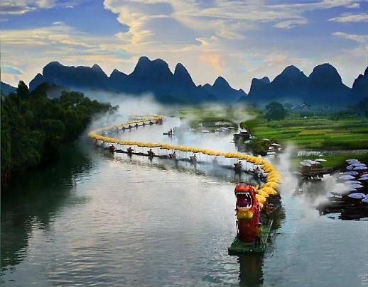 第二届遇龙河竹筏漂游节25日举办