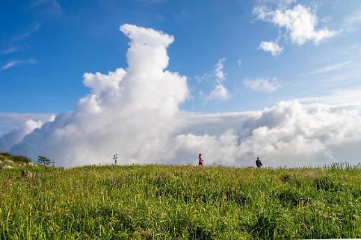 【亚洲云图】 贵州韭菜坪风景如画