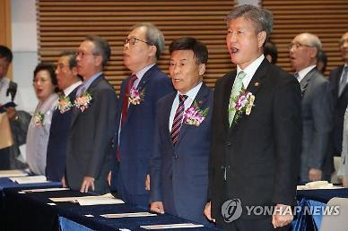 박삼득 보훈처장 주의 줬다... 김원웅 광복회장 처음 듣는 얘기