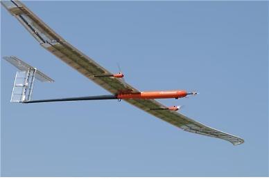 S. Korean aircraft maker succeeds in 53-hour test flight of solar-powered UAV
