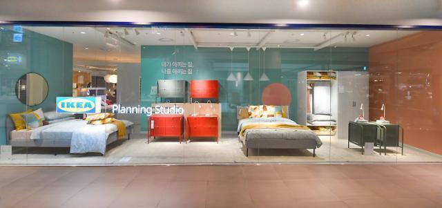 [르포] 지하철 2호선 타고 방문한 이케아…플래닝 스튜디오 신도림 가보니
