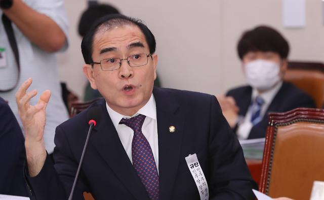 [21대 국회 이슈메이커] ②최초 탈북자 의원 태영호...이색 법안으로 주목
