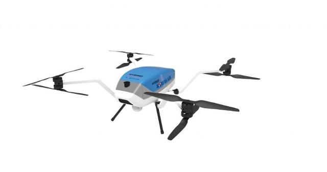 Korean Air works with drone operators for commercial use of hybrid-powered octocopter drone