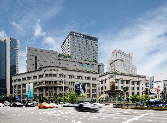[서울 랜드마크⑥]근대건축물의 상징…91살 명동 신세계백화점 본점