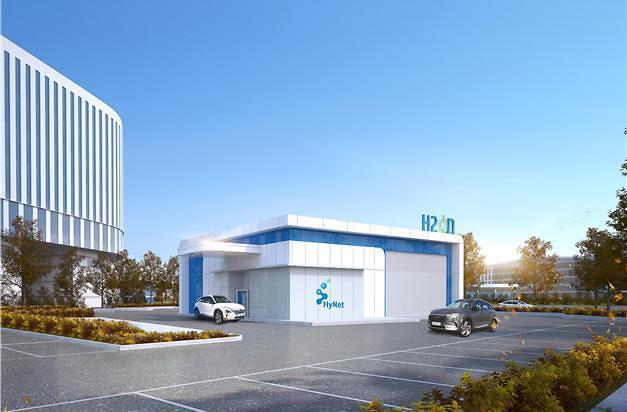 하루 60대 충전…정부세종청사 첫 수소충전소 오픈