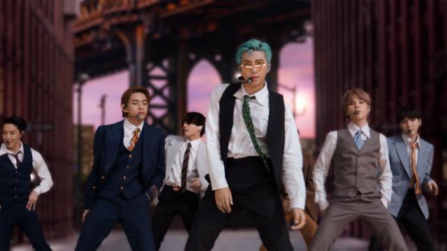 韩国歌手首次登顶公告牌单曲排行榜 BTS书写新历史