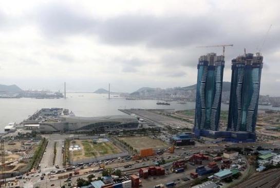 """韩国全境进入""""美莎克""""影响范围 南部地区普降暴雨"""