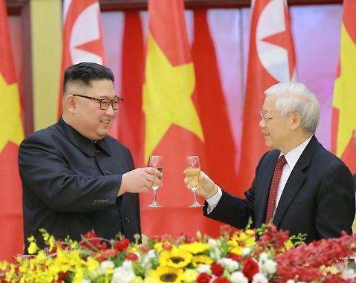 金正恩就越南建国75周年向阮富仲致贺电