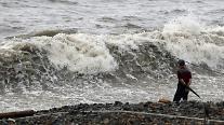 政府、台風第9号上陸に備えた情報通信危機警報「注意」発令