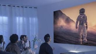 Samsung Electronics ra mắt máy chiếu mới cho phòng chiếu phim gia đình
