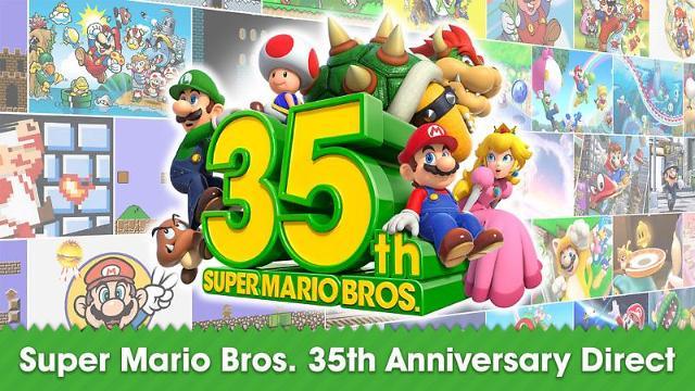 닌텐도 '슈퍼마리오' 출시 35주년 기념 신작 쏟아낸다