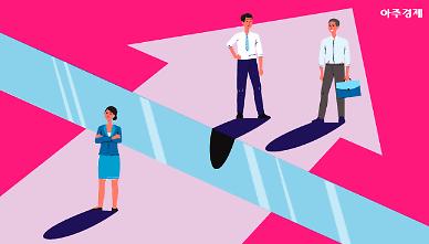 남성의 70% 못 미쳐... 임금근로자 시간당 임금, 女·男 차이는?  [아주경제 차트라이더]