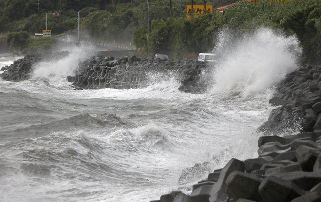 태풍 하이선 영향권…강풍·폭우 주의