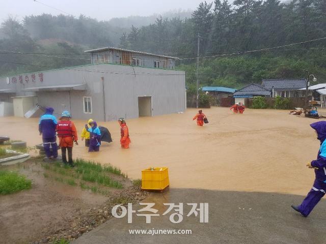 태풍 '하이선'에 경북 동해안 피해 잇따라