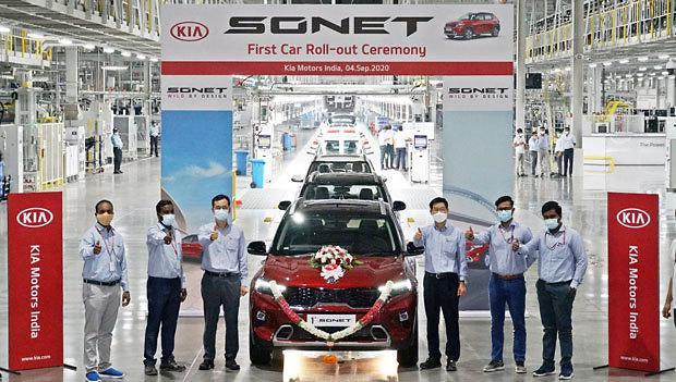 [NNA] 기아車, 印 공장 신형 SUV 소넷 생산 개시