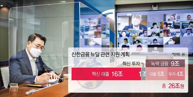 """신한금융 """"한국판 뉴딜 큰 도약 기회…4년간 26조 투자"""""""