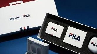 Samsung hợp tác với Fila trên các phụ kiện tai nghe không dây