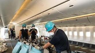 Korean Air bắt đầu sử dụng máy bay chở khách để vận chuyển hàng hóa