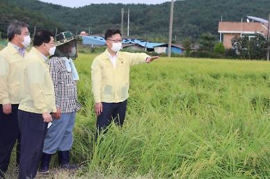 김현수 농식품부 장관 태풍 하이선 재해복구비·보험금 최대한 신속히 지급
