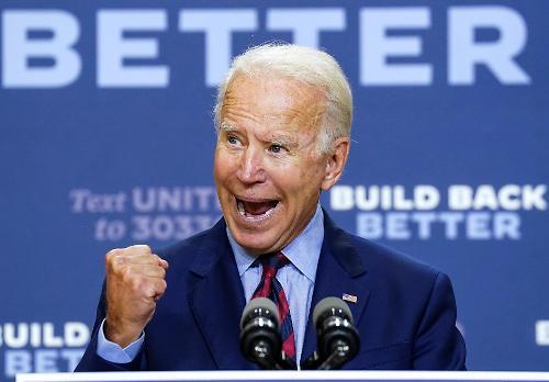 바이든에 몰리는 선거자금...트럼프 궁지