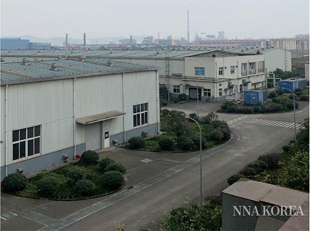 무사시도료, 중국 공장