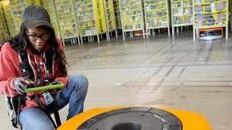 LG Chem cung cấp pin cho robot hậu cần của Amazon