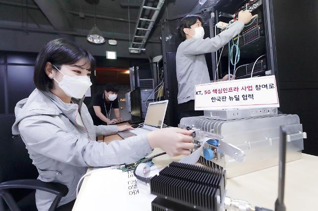 KT, 전국 5G 융합서비스 테스트베드 만든다