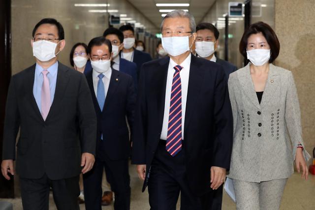 """김종인 """"공정경제 3법 거부할 입장 아냐…반시장 표현 잘못돼"""""""