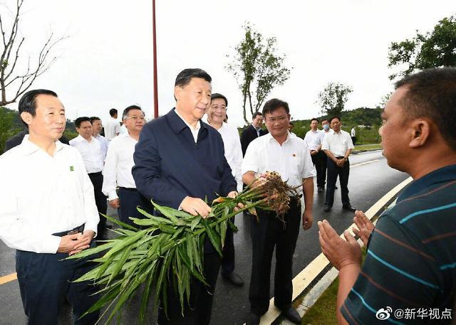 中 시진핑 주석, 후난성 시찰