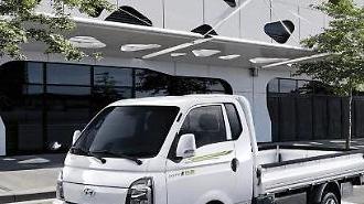Xe tải EV của Hyundai được sử dụng để vận chuyển hàng hóa ở Thái Lan