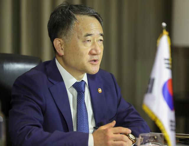 """박능후 """"코로나19 위기 진행형…백신 조기 개발·공평 배분 중요"""""""