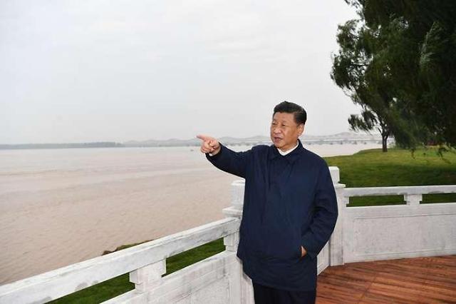 中 시진핑 주석, 황허 생태보호 강조
